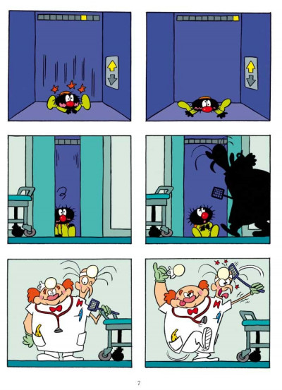 Page 5 Petit Poilu T.11 - l'hôpital des docteurs Toc-Toc