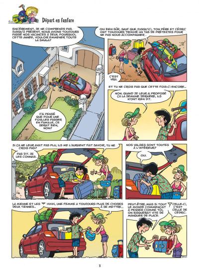 Page 3 Cédric tome 27 - c'est quand qu'on part ?
