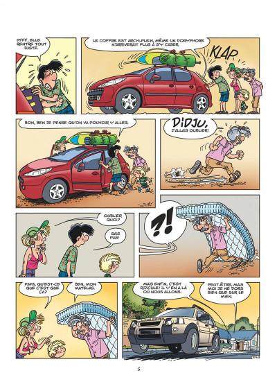 Page 5 Cédric tome 27 - c'est quand qu'on part ?