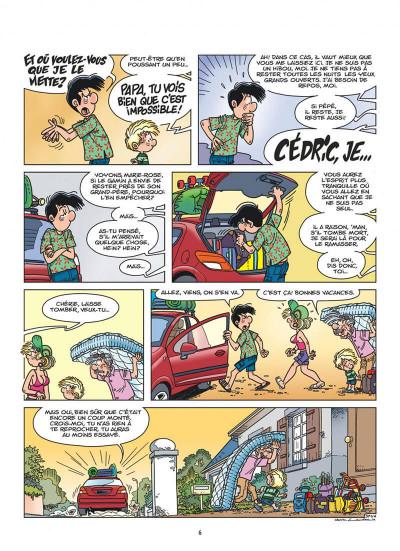 Page 6 Cédric tome 27 - c'est quand qu'on part ?