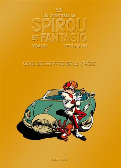 image de Spirou et Fantasio tome 53 - dans les griffes de la vipère (nouvelle édition)