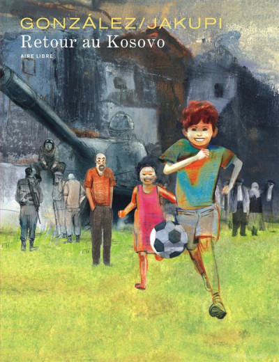 Couverture Retour Au Kosovo Tome 1