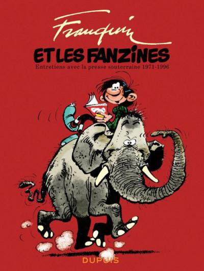 Couverture Franquin patrimoine tome 1- franquin et les fanzines