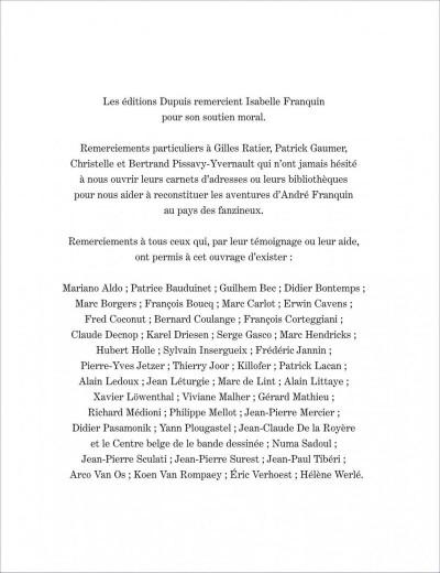 Page 5 Franquin patrimoine tome 1- franquin et les fanzines