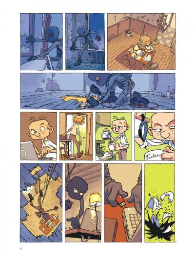 Page 4 Spirou et fantasio vu par... tome 8 - la grosse tête