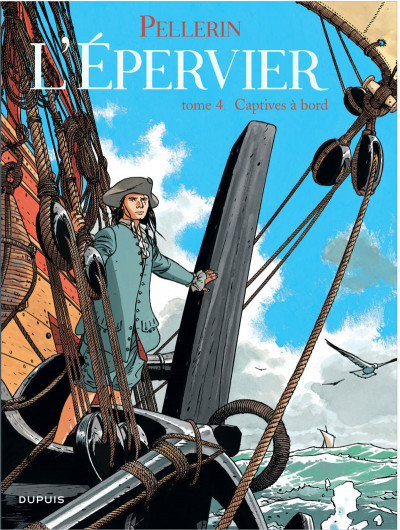 Couverture l'Epervier tome 4 - captives a bord