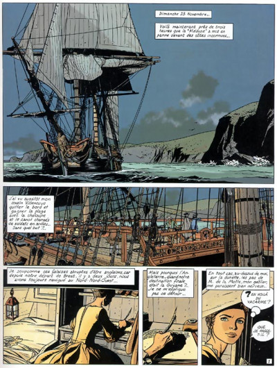 Page 1 l'Epervier tome 4 - captives a bord