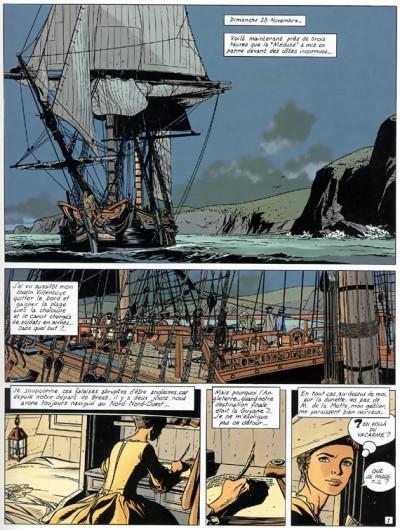 Page 1 l'épervier tome 4 - captives à bord