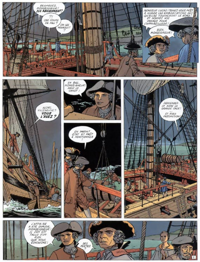 Page 2 l'Epervier tome 4 - captives a bord