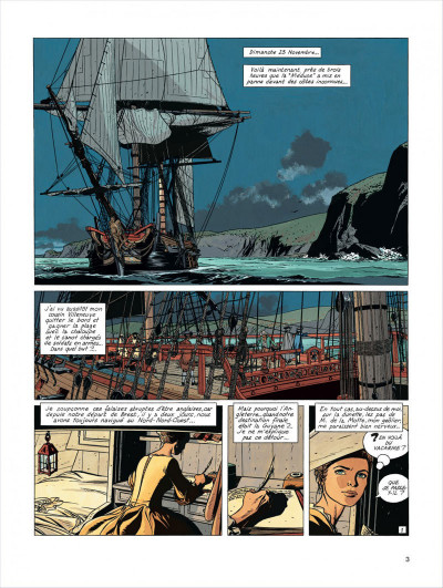 Page 3 l'Epervier tome 4 - captives a bord