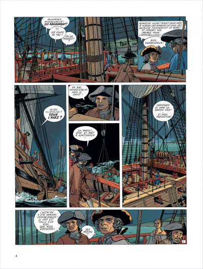 Page 4 l'Epervier tome 4 - captives a bord