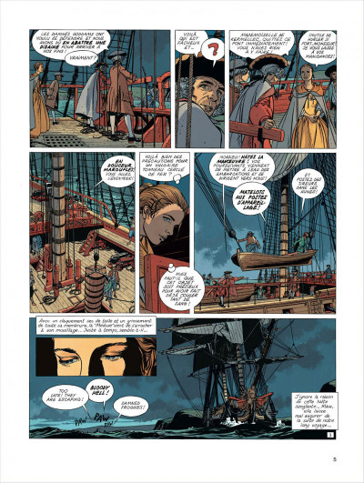 Page 5 l'Epervier tome 4 - captives a bord
