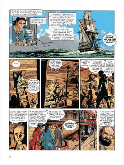 Page 6 l'épervier tome 4 - captives à bord