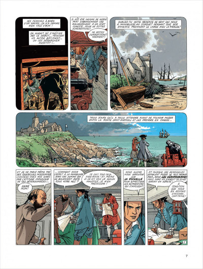 Page 7 l'Epervier tome 4 - captives a bord