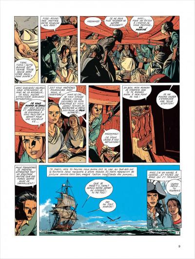 Page 9 l'épervier tome 4 - captives à bord