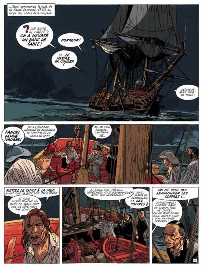 Page 1 l'Epervier tome 6 - les larmes de Tlaloc