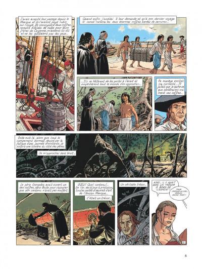 Page 5 l'Epervier tome 6 - les larmes de Tlaloc