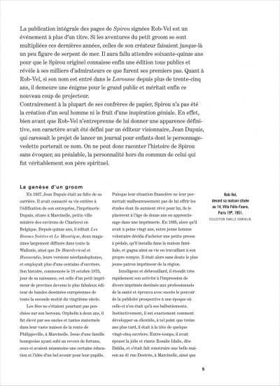 Page 5 Spirou - intégrale tome 0 - Par Rob-Vel (1938-1943)