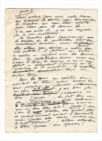 Page 7 Spirou - intégrale tome 0 - Par Rob-Vel (1938-1943)