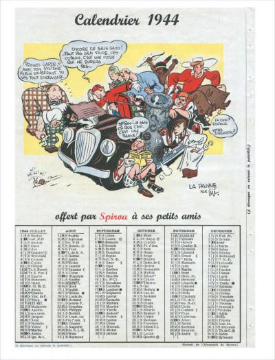 Page 7 La véritable histoire de Spirou tome 1