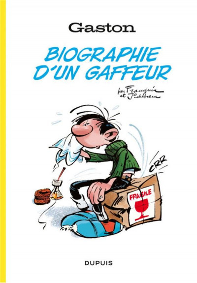 Couverture Gaston, biographie d'un gaffeur
