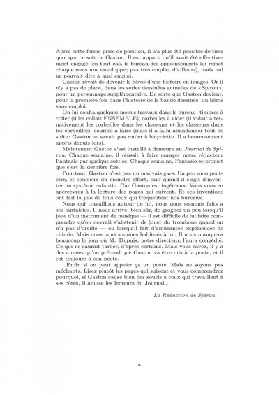 Page 5 Gaston, biographie d'un gaffeur