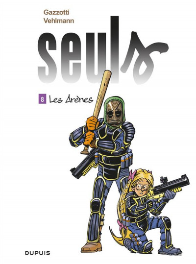 Couverture Seuls tome 8
