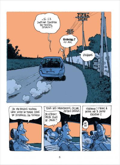 Page 5 dans l'atelier de Fournier