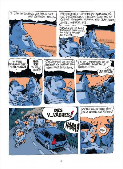 Page 6 dans l'atelier de Fournier
