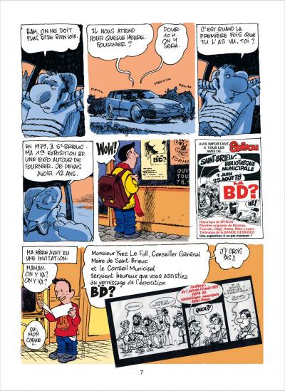 Page 7 dans l'atelier de Fournier