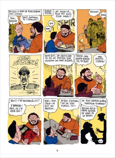 Page 8 dans l'atelier de Fournier