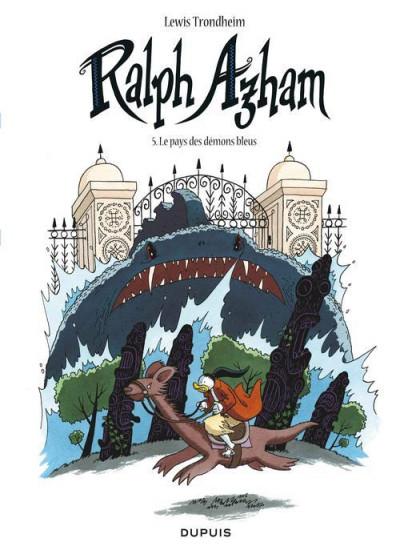 Couverture Ralph Azham tome 5 - le pays des démons bleus