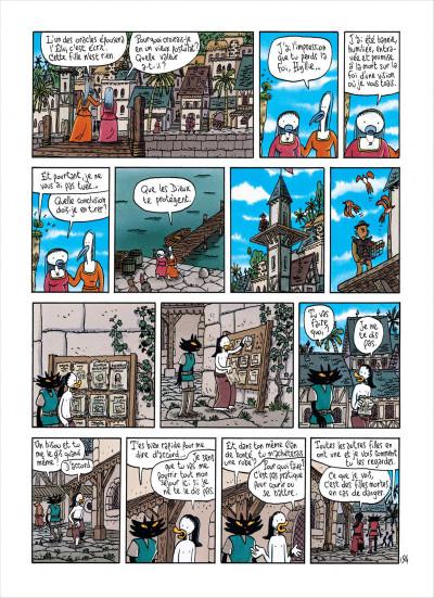 Page 4 Ralph Azham tome 5 - le pays des démons bleus
