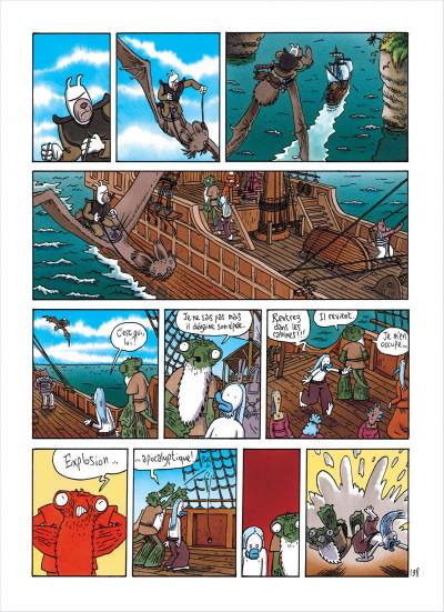Page 8 Ralph Azham tome 5 - le pays des démons bleus