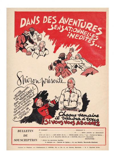 Page 4 Valhardi - intégrale tome 1 - 1941-1946