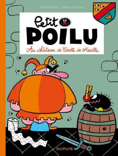 Couverture Petit Poilu tome 13 - au château de Crotte de Maille