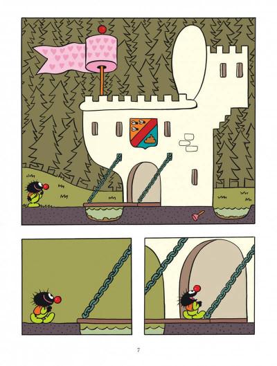 Page 7 Petit Poilu tome 13 - au château de Crotte de Maille