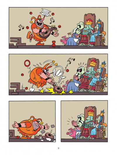 Page 9 Petit Poilu tome 13 - au château de Crotte de Maille