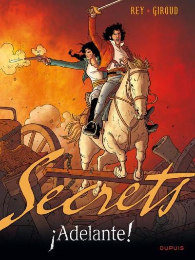 image de secrets - adelante ! tome 1