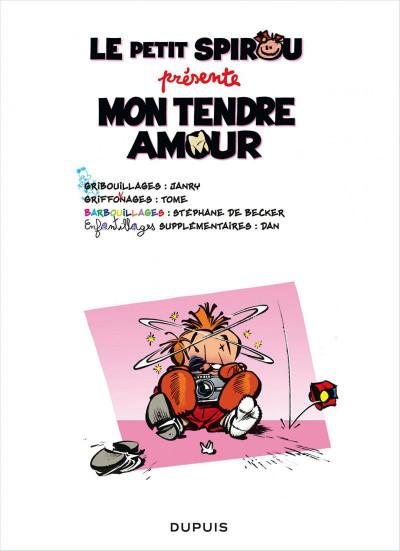 Page 1 Le petit Spirou présente tome 5