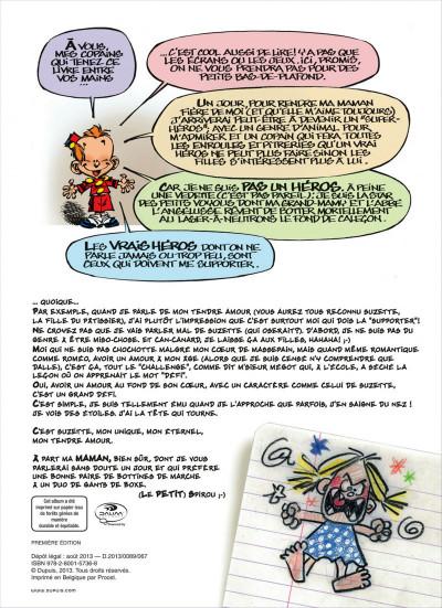 Page 2 Le petit Spirou présente tome 5