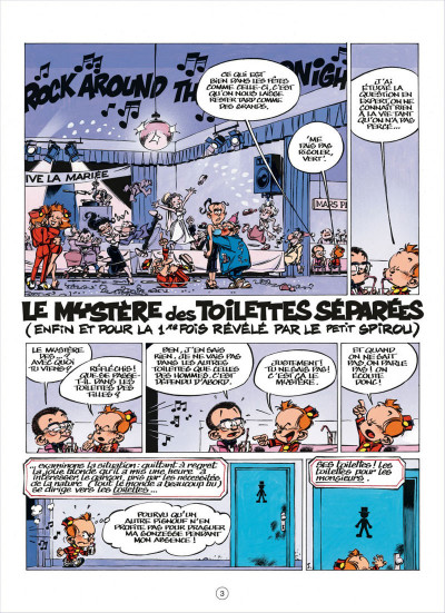 Page 3 Le petit Spirou présente tome 5
