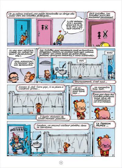 Page 4 Le petit Spirou présente tome 5