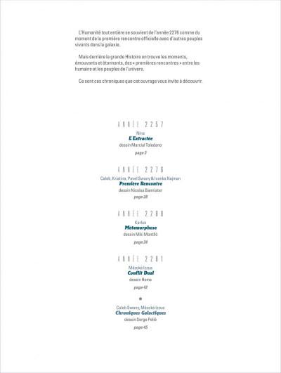 Page 2 orbital - hors-série tome 1 - premières rencontres