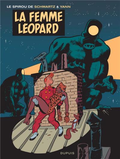 Couverture Spirou et Fantasio - vu par... tome 7 - Spirou et la femme léopard