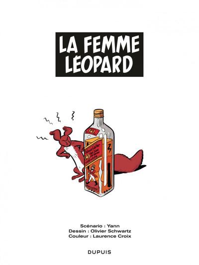 Page 1 Spirou et Fantasio - vu par... tome 7 - Spirou et la femme léopard