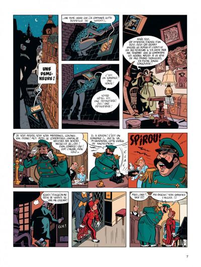 Page 7 Spirou et Fantasio - vu par... tome 7 - Spirou et la femme léopard