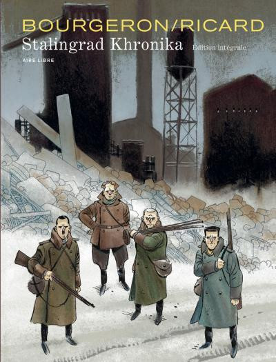 Couverture Stalingrad khronika ; intégrale
