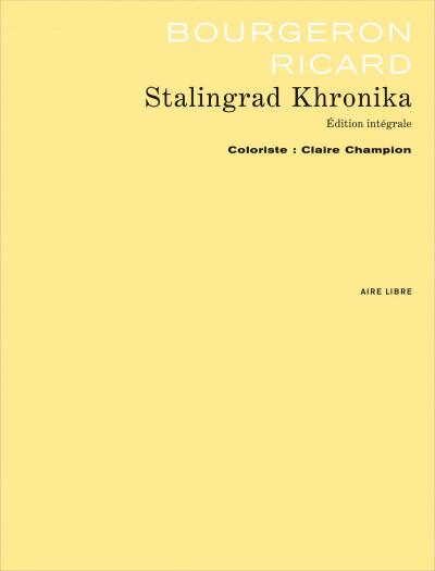 Page 1 Stalingrad khronika ; intégrale