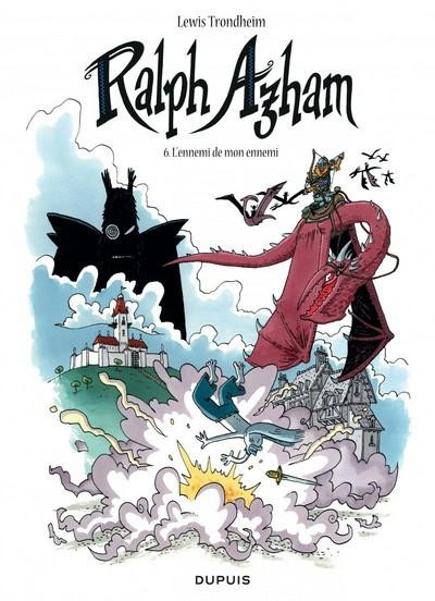 Couverture Ralph Azham tome 6